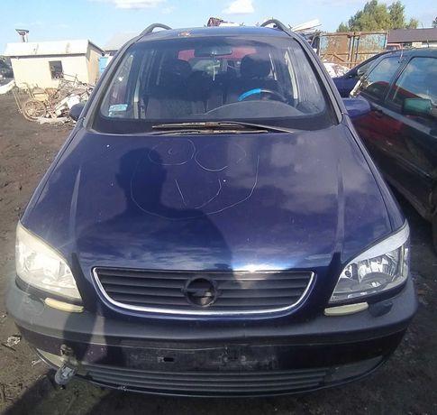 Opel Zafira A 2.0 DTI 2002r Wszystkie Części Lakier Z282 7 Foteli