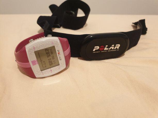 Pulsometr zegarek Polar FT4 + opaska, zestaw wodoodporny