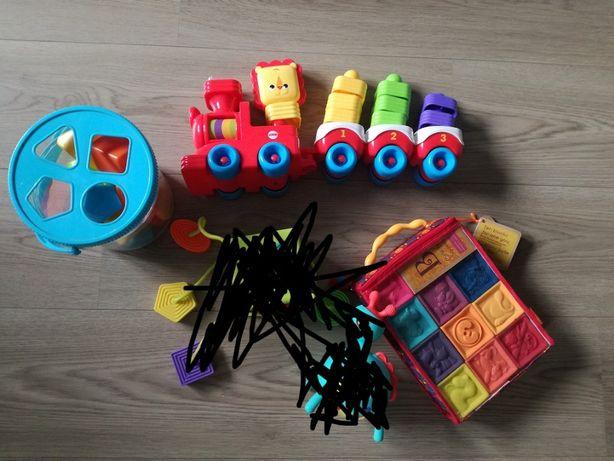 Fat Brain Toys B.Toys sorter klocki Fisher Price pociąg