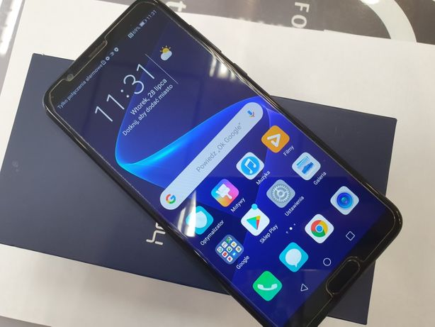 Honor View 10 Dual SIM/ 6GB/128GB/ Black/ 100% sprawny/ Gwarancja