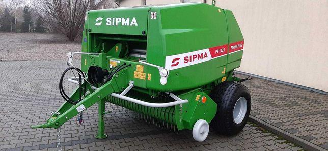 Prasa zwijająca ( rolująca) firmy  Sipma Farma Plus 1221