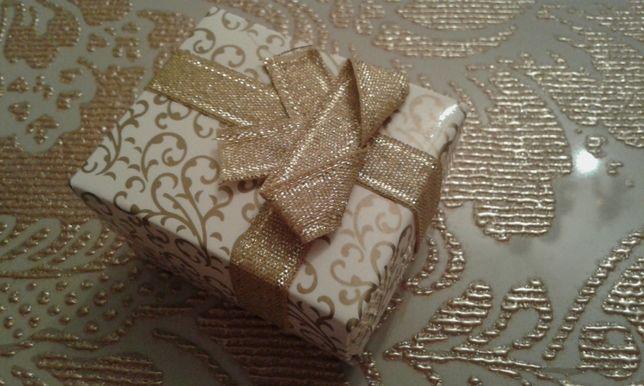 новая коробочка подарочная упаковка для: кольцо кулон серьги