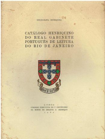 9009 Catálogo Henriquino do Real Gabinete Português de Leitura do Rio