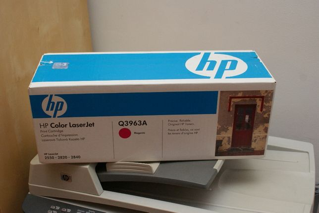 Toner Oryginalny HP Q3963A Magenta 2550, 2820, 2840 nowy