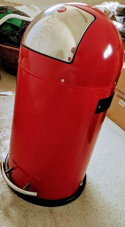 Kosz na śmieci HEILO KICKMAXX 35L pojemnik odpady okazja nowy czerwony