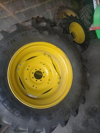 Michelin MULTIBIB NOWE 540/65 r34 i 440/65 r24, komplet z felgami