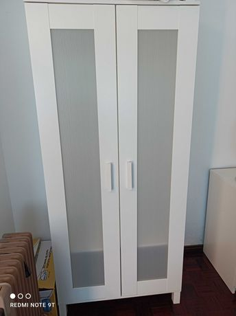 Roupeiro branco - 2 portas