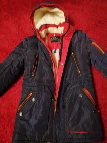 Зимова куртка парка на хлопчика