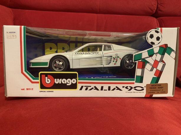 Bburago Ferrari Testarossa Italia '90 1/18