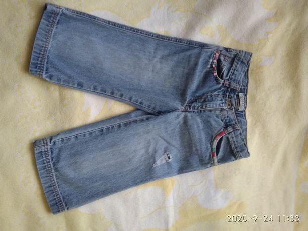 Продам джинсовые бриджы