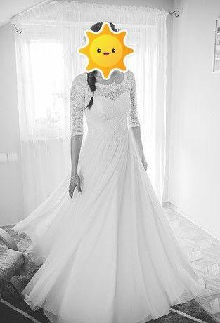 Lekko, swobodnie i elegancko - sprzedam suknię ślubną