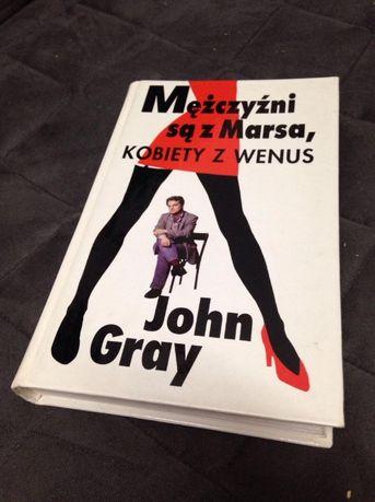 John Gray - Mężczyźni są z Marsa, kobiety z Wenus - TWARDA OPRAWA 1995
