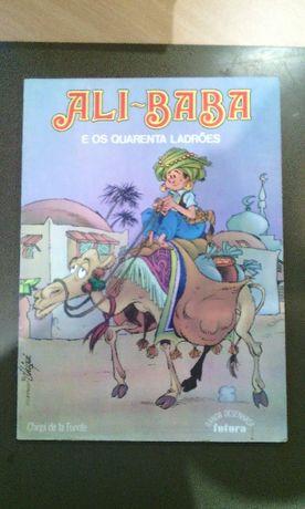 Banda Desenhada - Ali Baba e os Quarenta Ladrões