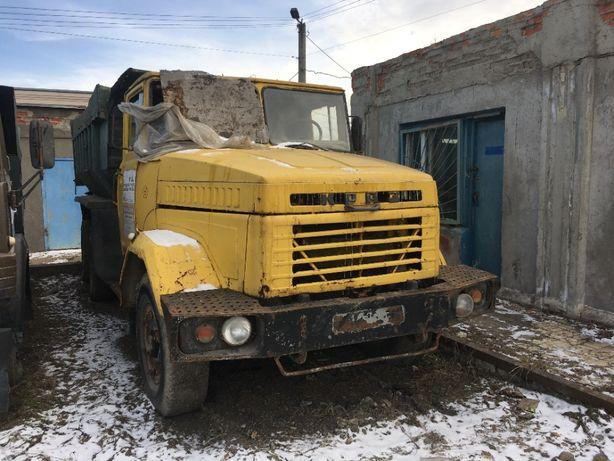 Автомобиль самосвал КРАЗ 6510 год выпуска 1992