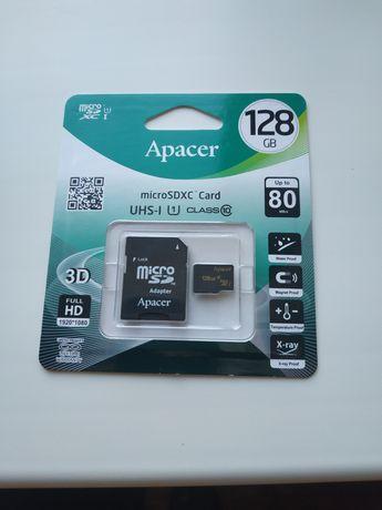 Карта флеш-пам'ять 128 GB Apacer AP128GMCSX10U1-R