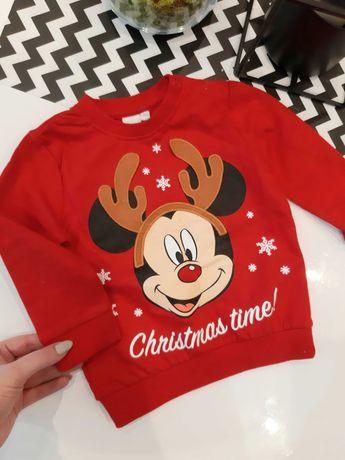 Sweterek na święta chłopiec