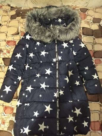 Продам женский зимний пуховик очень тёплый.