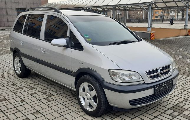 Opel Zafira 1.8 Бензин Растоможенна! Срочно 4550$