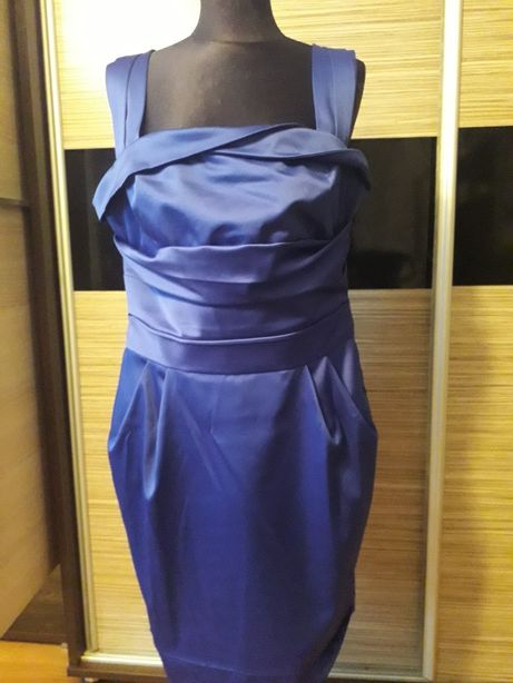 Sukienka chabrowa XXL 44