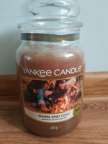 Yankee Candle Warm and Cozy +sweterek na świece
