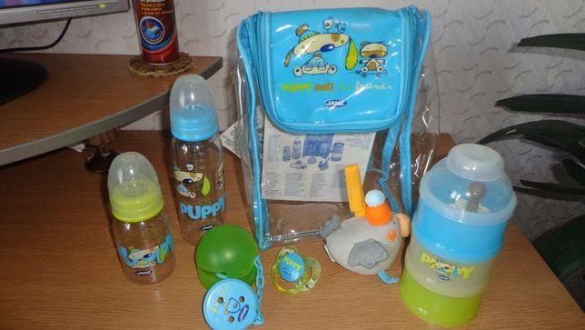 """Фирм. подарочный набор для новорожденного """"Jane Gift Set""""+подарок)"""