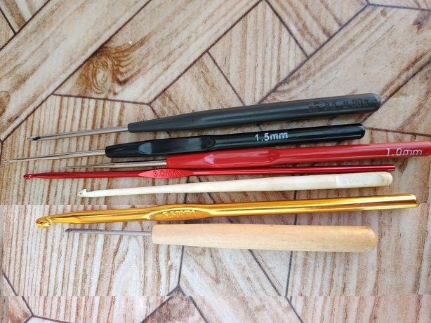 Крючок для вязания (цена за все 6 штук)