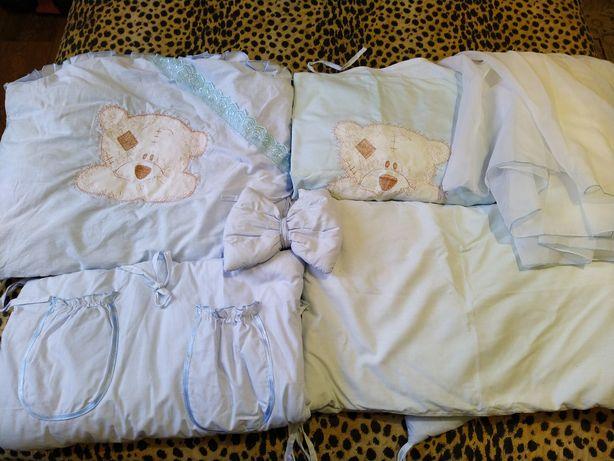 Набор постельного белья в детскую кровать