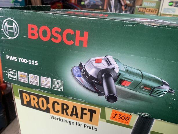 Болгарка Bosch PWS 700-115