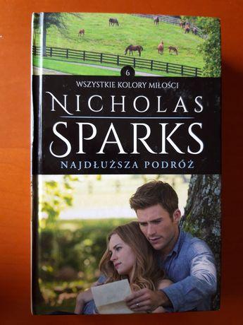 """""""Najdłuższa podróż"""" Nicholas Sparks"""