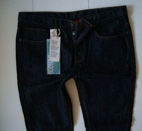 Roz. 36/32 Nowe Spodnie Jeans Denim co. slim leg dark navy