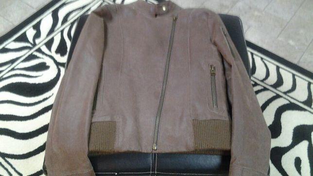 casaco de couro (oferta portes)