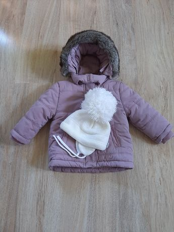 Зимняя тёплая  куртка на девочку. Новая.