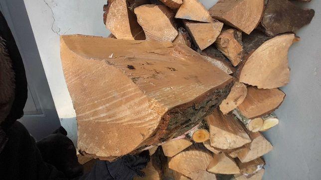 Drewno kominkowe opałowe dąb