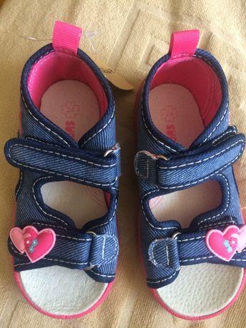 Текстильні сандалі,тапулі