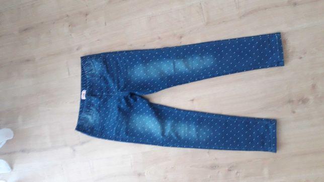 Spodnie dżinsy jeginsy rozm. 146