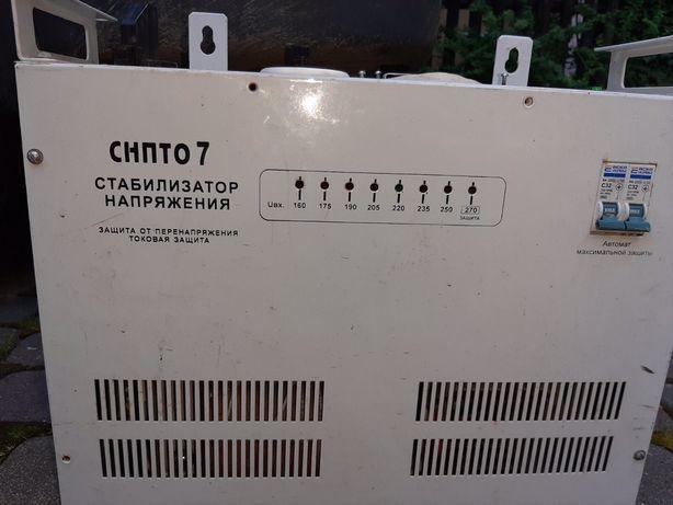 Стабілізатор напруги СНПТО 7, стабилизатор напряжения