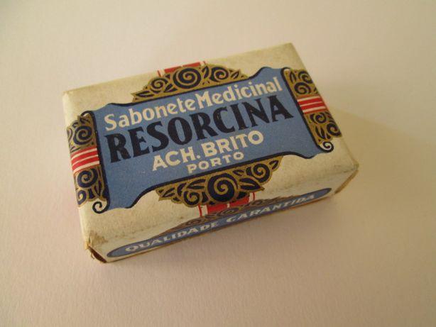 Raro Sabonete Medicinal Ach Brito Resorcina Antigo