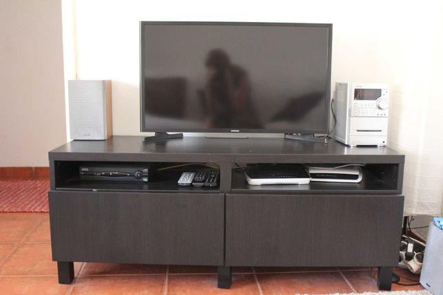 Oportunidade! Móvel TV Besta Wengue - Ikea