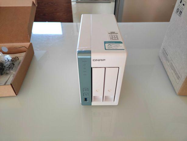 Serwer plików NAS QNAP TS-231K 2xHDD dysk sieciowy