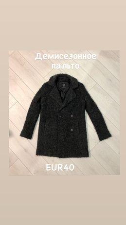 Серое женское пальто Сlockhouse