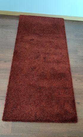 Carpete /tapete vermelho escuro (bordeaux) 196*82cm