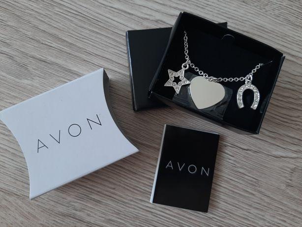 Biżuteria Avon, naszyjnik z zawieszkami