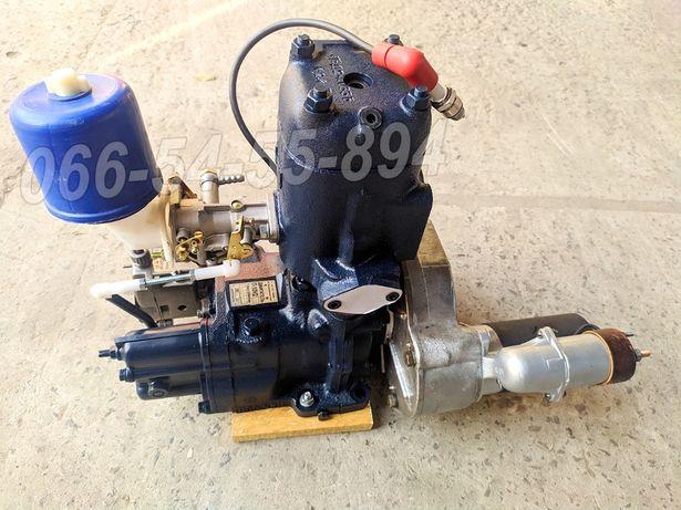 Пусковой двигатель ПД-10 П-350. МТЗ ЮМЗ Нива ДТ-75, Т-150 Д-240,65 СМД