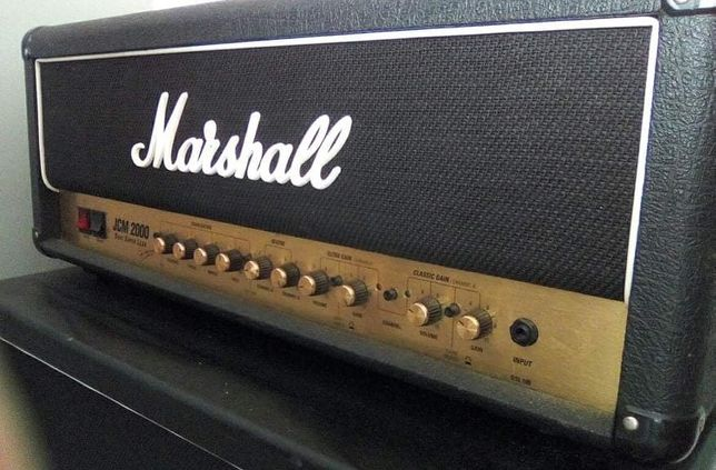 """Wzmacniacz gitarowy Marshall JCM 2000 DSL100 + paka 2x12"""" Celestion"""