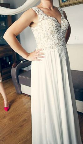 Przepiekna Suknia Ślubna