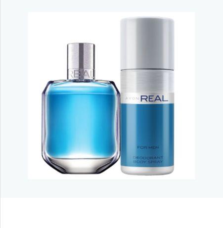 AVON Real zapach dla mężczyzn lub zestaw z dezodorantemlub żelem