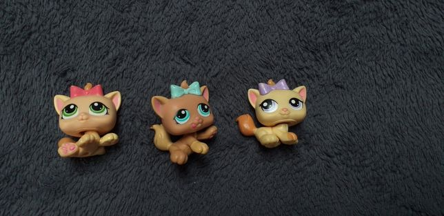 Figurki Littlest Pet Shop- kotki