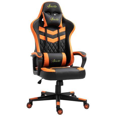Cadeira Gaming Vinsetto laranja