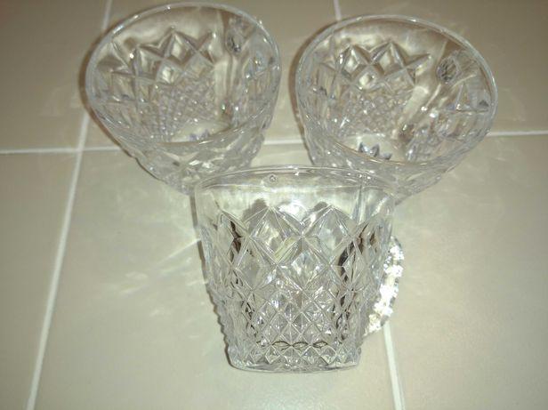 Богемское стекло хрусталь чашечки