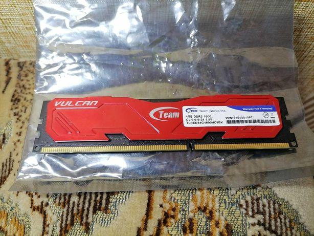 Team Vulcan DDR3 4 Gb 1600
